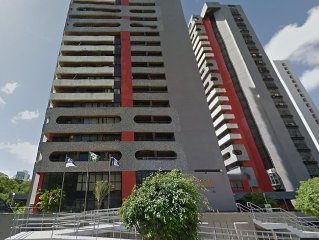FLAT IN RECIFE, FULL, NEXT TO THE SEA and THE AIRPORT 5 MIN P / TO 7 PAX