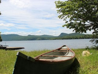 Beautifully Renovated Classic Vermont Lake View Cottage