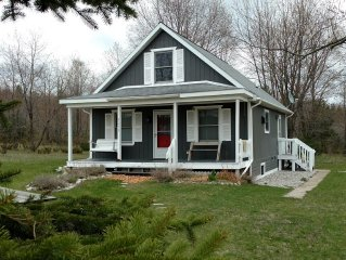 Quiet and charming, views of historic Leelanau county, close to beaches