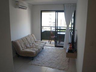 Apt. 2 bedrooms for up to 6 people, 50 meters from Ponta Verde beach