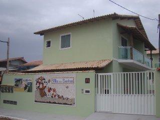 Duplex de 2 ou 3 quartos na beira da praia paradisiaca de Figueira