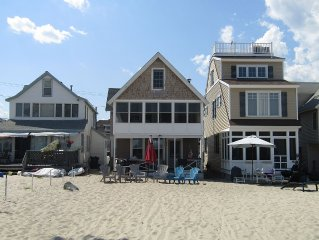 Updated 4 Bedroom Home With Tons Of Private Sandy Beach
