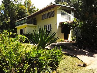 Private Rain Forest Home in El Yunque, Puerto Rico on Five Secluded acres