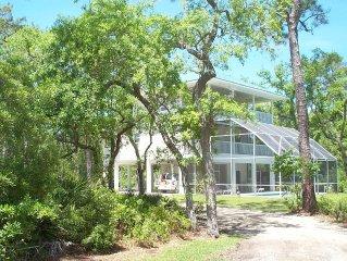 A Hidden Treasure --spacious, comfortable home, private pool, beach access