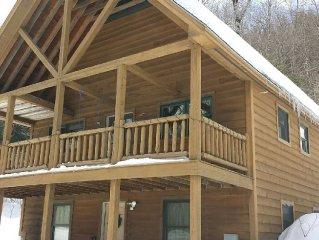 Sugarloaf Area - Large 3 BR Ski Chalet -  Sleeps 8-  !!