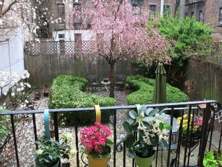 Serene and Enchanting.... Exclusive Garden Apartment