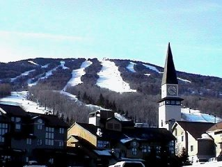 Stratton Mountain Townhouse - Great Location for Ski Families!