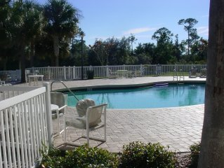 2 bedroom Villa right across from Club House and Pool and not to far from Disney