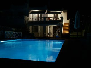 Lovable Saronida Seafront Luxury Rental with Pool near Cape Sounion