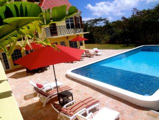 Private Gated Estate - Annaly Manor  ( US Virgin Islands )