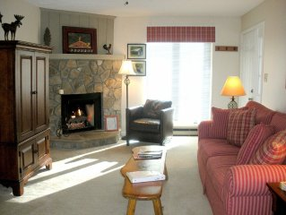 2 BR/2 BA In Town Condo- Jan-May: Stay 2 nights, get 3rd night FREE!