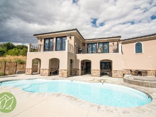 Stunning 6 Bedroom Home with Private Heated Pool