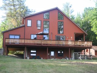 Sunny Adirondack Getaway, Mountain Views, Perfect for Families, Pet Friendly