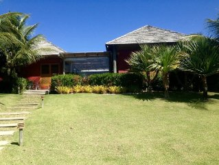 Beautiful Beach House In Terravista Golf, Trancoso