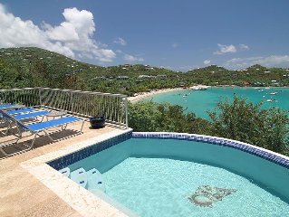 Villa Bombalassy, 2 Bedroom Luxury Vacation Villa, St. John, USVI