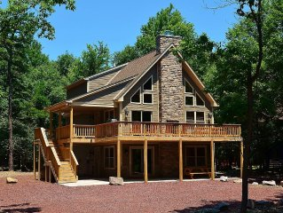 Lake Harmony Estates Newest Home