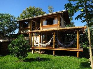 C.A.S.A Ecológica Paraty - Casa Peroba: Amplo Jardim e Próximo ao Centro
