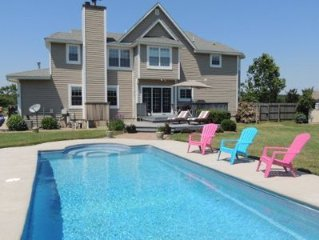 Family retreat w/ inground Pool on Chesapeake Bay and great golf