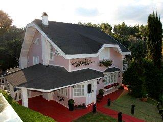 A mais bela casa na montanha
