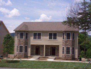 Luxury Lake George Rental Townhome. Lakeviews. Steps from Million Dollar Beach