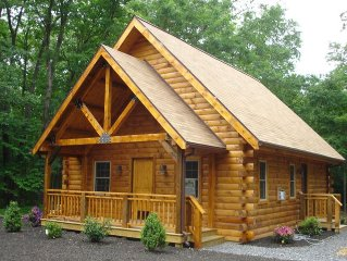 Spruce Run Hideaway, Log Cabin Alone On 245 Acres Of Forest, Lewisburg Pa