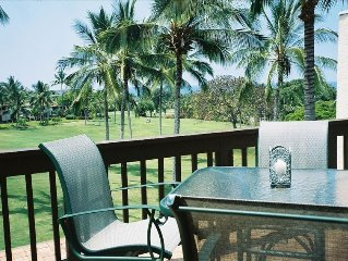 Relax in Spacious Villa on 16th Tee/fairway w/ beautiful Ocean & Mountain Views
