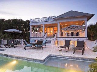 Luxury Custom Home - 7 Bdrm, Ocean Views, Heatable Private Pool, Elevator