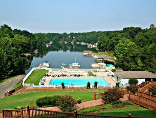 ALMOST HEAVEN , BOAT SLIP,  LAKEFRONT, GREAT SUNSET VIEWS, LAKEFRONT POOL