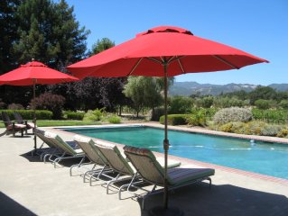 Rancho Paradiso Secluded Sonoma Country Retreat Views Pool-Spa