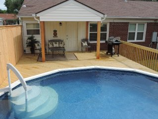 The Bungalow at Oswego--Family Fun Near the Expo Center!