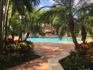 Beautiful 3 bedroom resort style condo townhouse in gated community