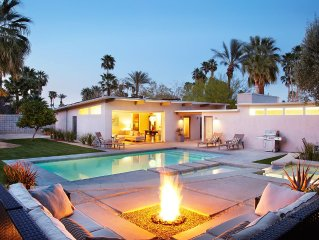 Private Mieselman Mid-Century Modern with Views and Stunning Saltwater Pool
