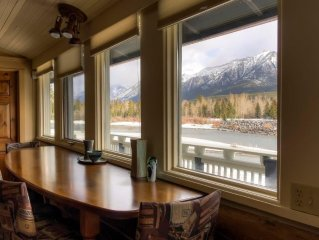 Historic Home on the Bow River; 4 bdrms/4 bath