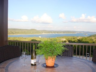 El Sueno~ Large private balcony with BEST Lake Travis Views~BOOK NOW FOR SPRING
