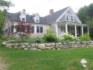 Charming 19th century farmhouse on the coast of Maine