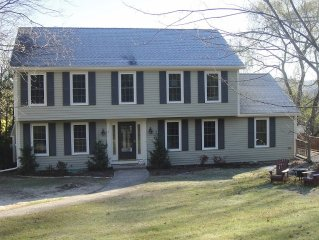 Lovely Lenox Colonial with mountain views yet one mile from center of town