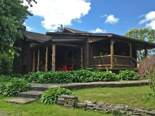 Clinton Corners Hideaway: Handcrafted Home On 2 Acres In Bucolic Setting!