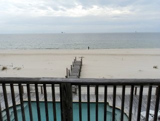 Luxury beachfront rental withsolar heated  pool ( Recovery Room West).