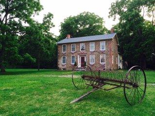 Historic Bullis House 1839 Cobblestone Near Hill Cumorah