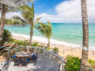 ★ Sandy Beachfront Home ★  Complete 2016 Remodel/AC/Kayaks/Laundry/WiFi/Parking.