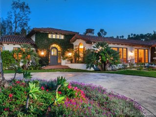 Rancho Santa Fe Covenant 5 Bedroom Estate