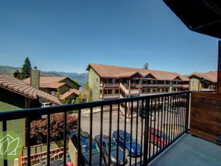 2 Bedroom Condo with Lake and Mountian Views by S