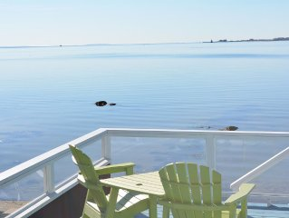 Oceanfront Home With Panoramic Ocean Views Across Buzzards Bay