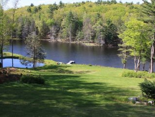 Secluded Lakefront on 31 acres ,Private Lake, Beautiful views