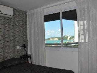 Alto padrao! Ahead Ponta Negra 2 suítes, piscina, vista para o mar