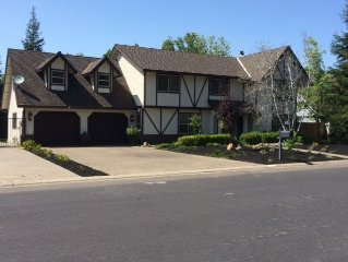 Spacious Tudor with Custom Swimming Pool Near the American River and Folsom Lake