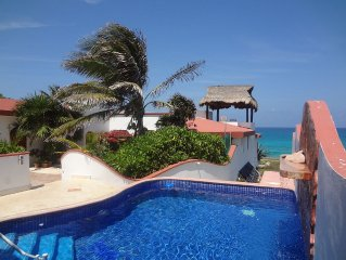 OCEAN FRONT- MEXICAN STYLE VILLA - Paradise by the sea