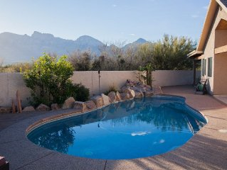 Private Oro Valley Retreat!  Pool, hot tub, 270* views on 1 acre, 3 br/2.5 ba