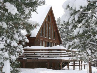 Charming Chalet close to the ski area!  Great views, low rates!