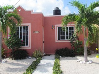 Near Tulum and Akumal, turtle sanctuary and protected beach. Family friendly!